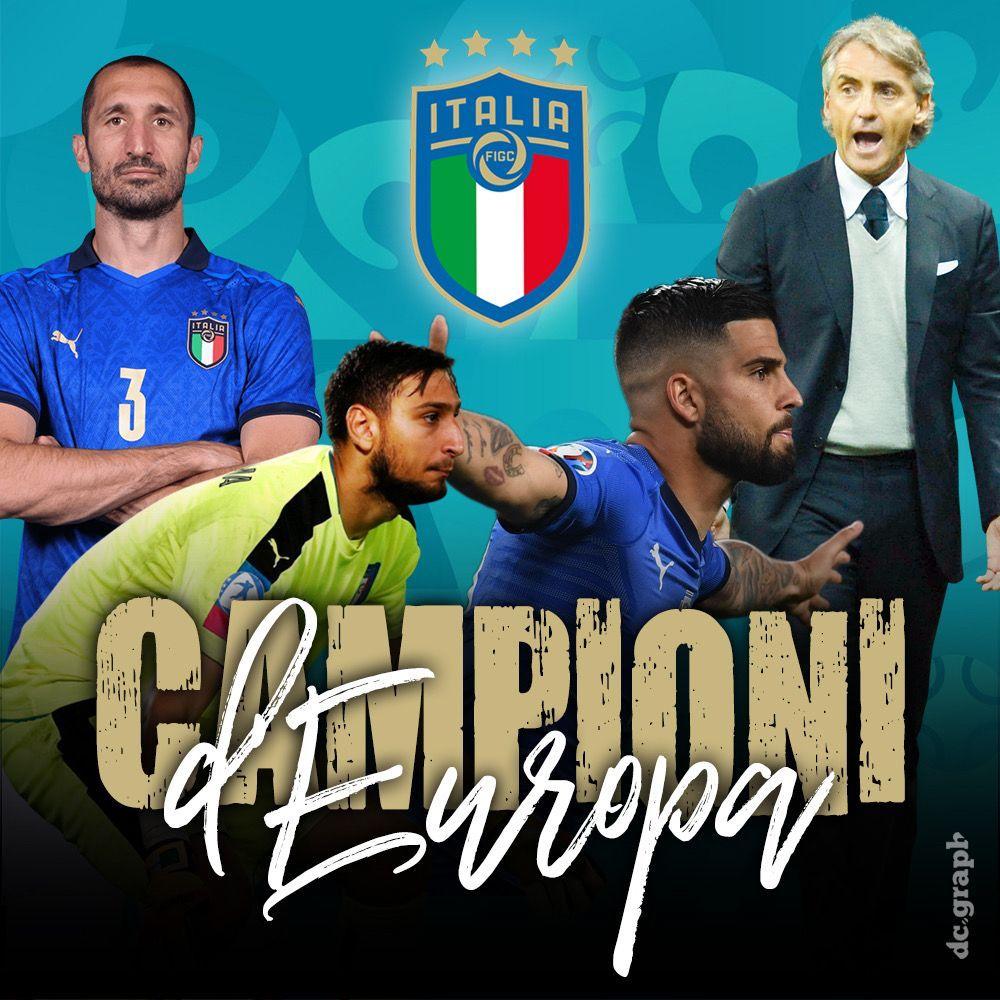 Italia, we are the champions: l'Europa è tutta nostra