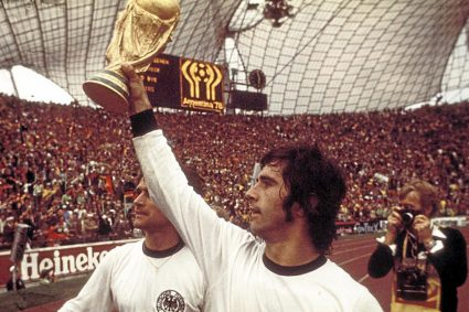 È morto Gerd Müller, mitico attaccante del Bayern e della Germania