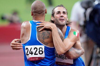 Tokio 2020, è un'Italia da leggenda: oro per Gianmarco Tamberi e Marcell Jacobs