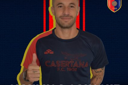 Calciomercato, la Casertana piazza il colpo Gianluca Sansone