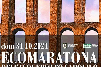 Ecomaratona dell'Acquedotto Carolino, il 31 ottobre la Iª edizione