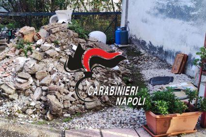 Cumulo di rifiuti edili. Per inquinamento ambientale, Carabinieri denunciano 60enne