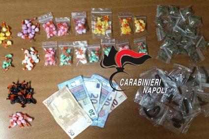 """Droga per tutti i """"gusti"""" nelle tasche di un pusher 54enne. Arrestato dai Carabinieri"""